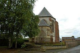 Friville Escarbotin - l'église
