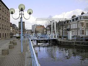pont-levis - la Scarpe a Douai