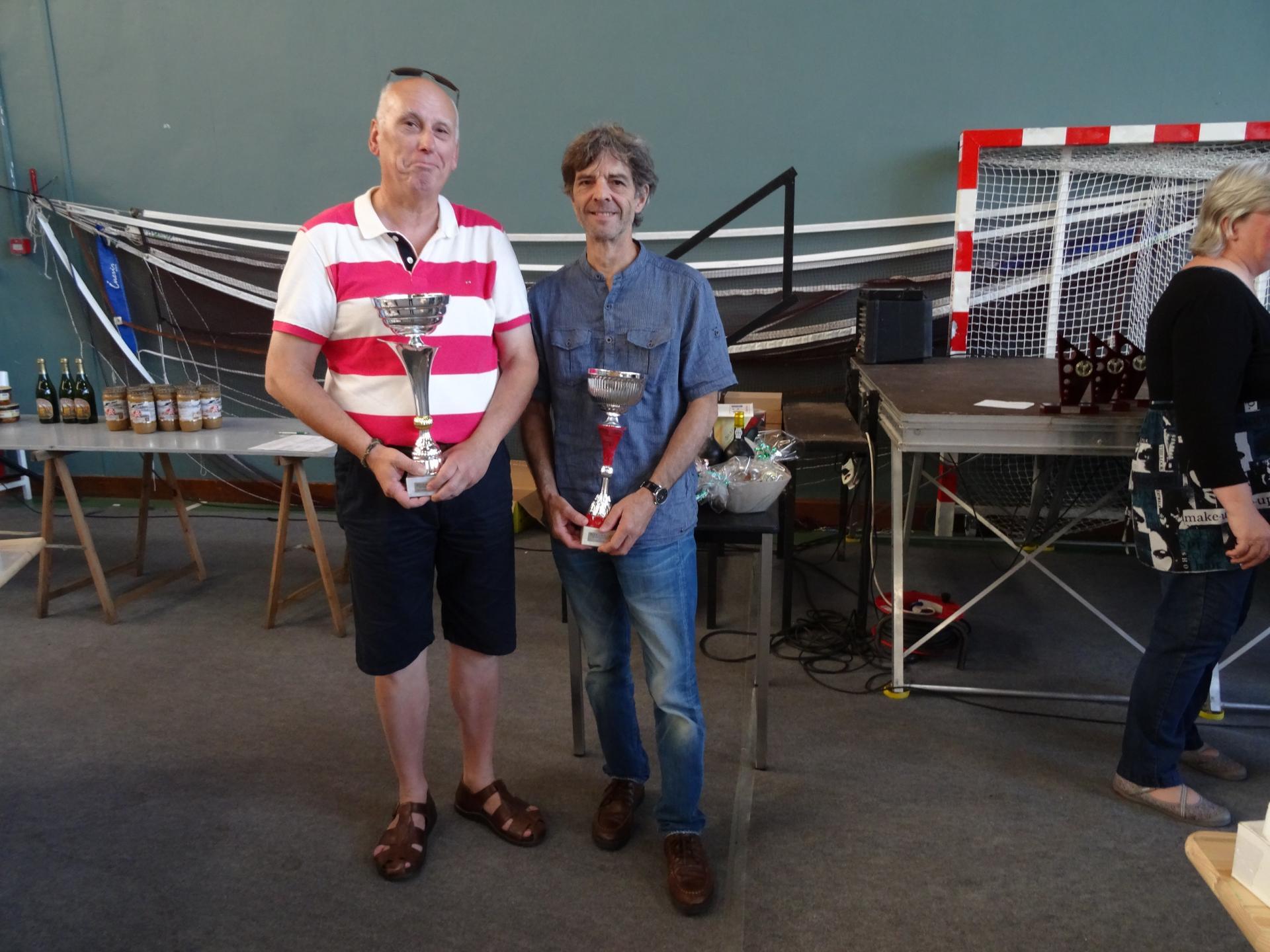 Semi-rapide - 1er Guy DELORE - 1er Grand Prix : Miguel CHAMPAGNE