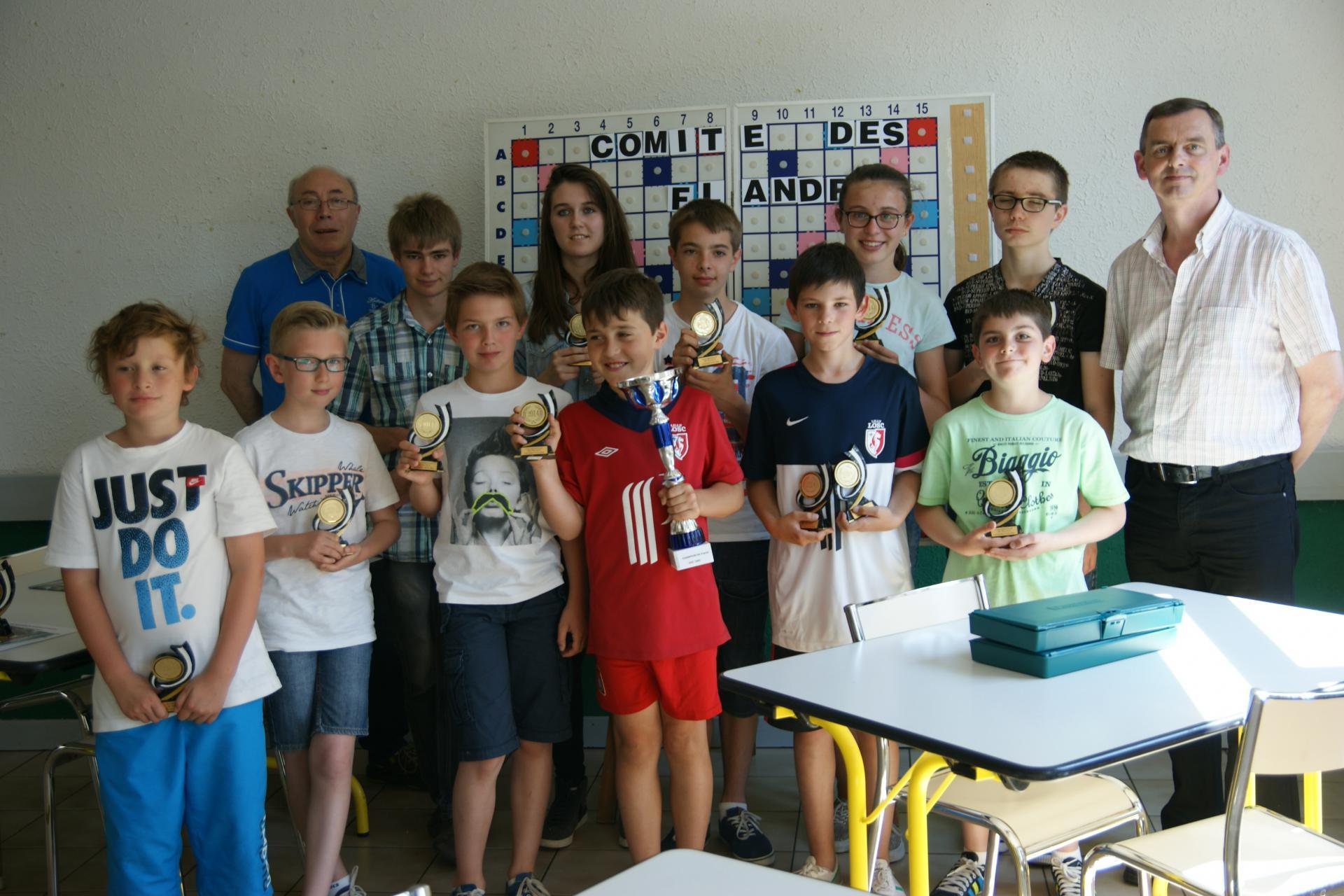 Reception- les jeunes champions