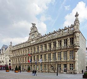 Valenciennes - hôtel de ville